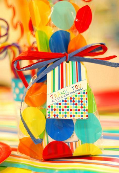 Bolsa cumpleaños infantil