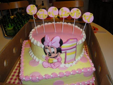 Tarta original Minnie