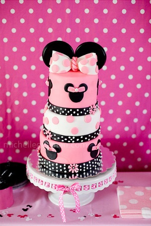Espectacular La Tarta Para Este Plea  Os De Minnie Mouse