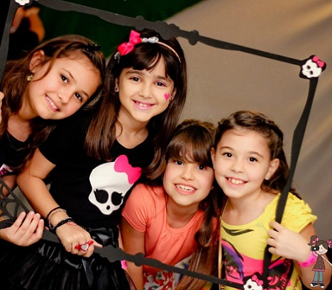 fiesta cumpleanos monster high ninas