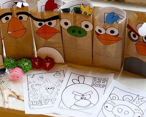 Como Hacer Centros De Mesa Angry Birds   Children Bedroom Furniture