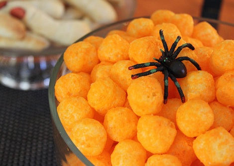 ideas fiestas halloween ganchitos