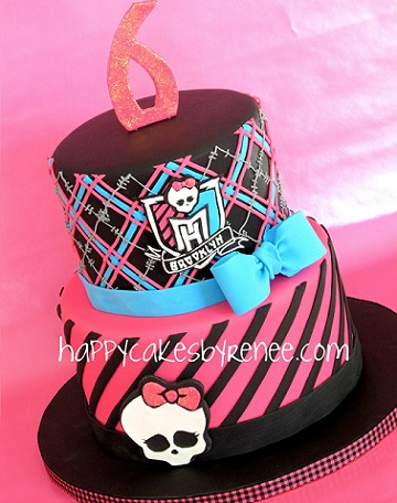 tartas monster high 6