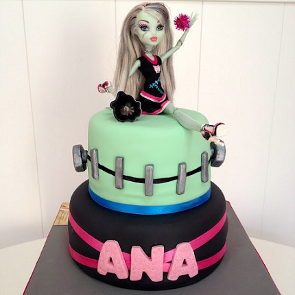 tartas monster high ana