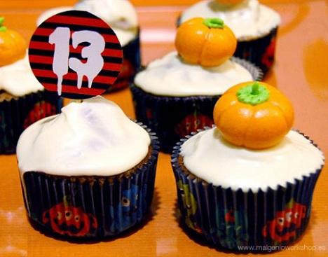 fiesta halloween original cupcakes