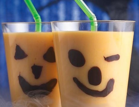 ideas halloween bebidas chocolate