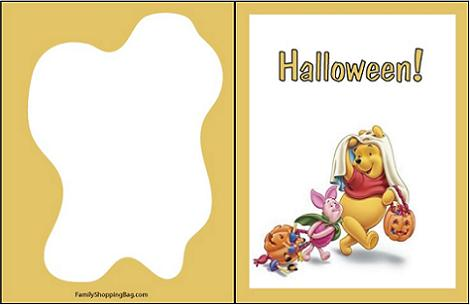 Invitación Disney Halloween