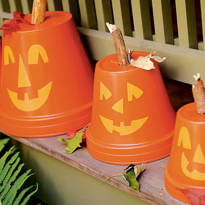 manualidades halloween macetas