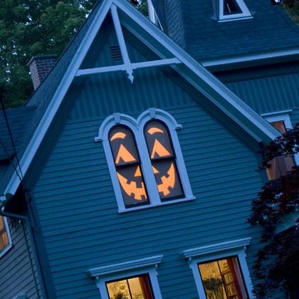 manualidades halloween ventanas