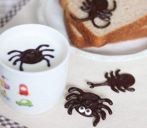 recetas halloween insectos