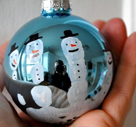hacer bolas navidad nariz