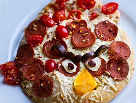 recetas infantiles pizza angry birds