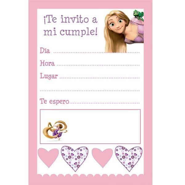 Kit de Rapunzel para imprimir gratis y decorar fiesta