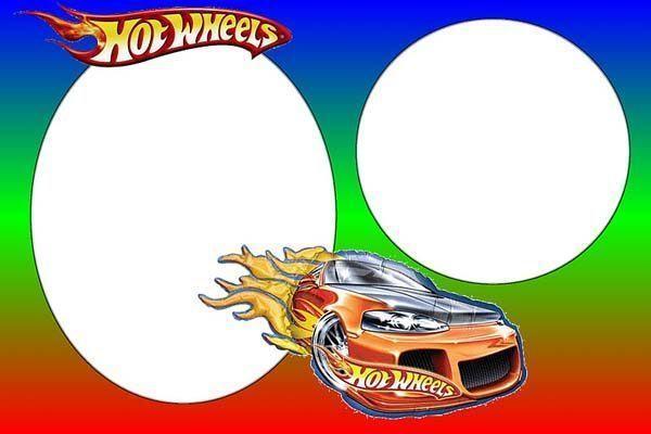 Tarjetas De Cumplea 241 Os De Hot Wheels Para Imprimir