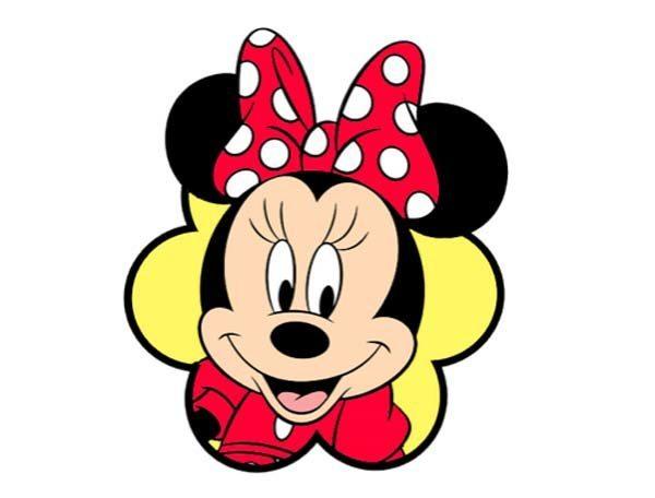 Cara de Minnie Mouse para imprimir y hacer manualidades