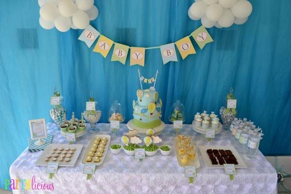 baby shower blog de babycenter como decorar mesa para baby shower de