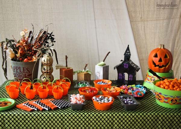 Ideas para halloween 2015 decoraci n comida y manualidades for Decoracion mesa halloween