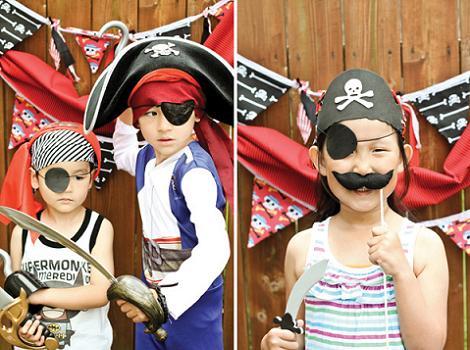 Fiesta de cumple de piratas