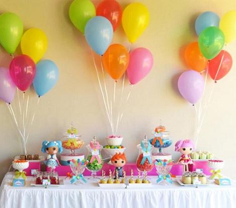 cumpleaños lalaloopsy mesa