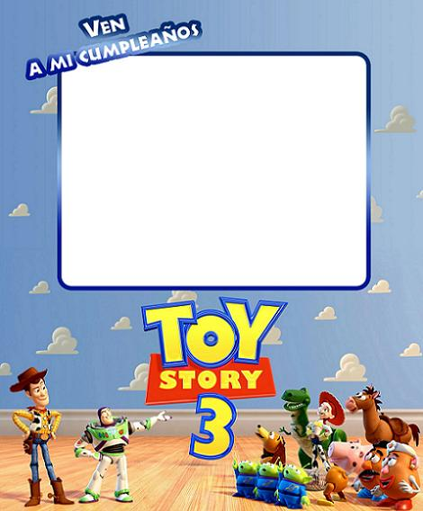 Invitación Toy Story 3