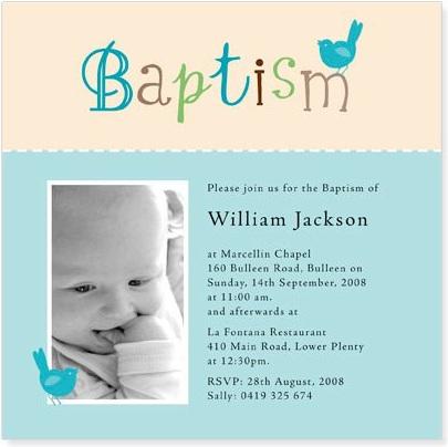 invitaciones bautizo foto