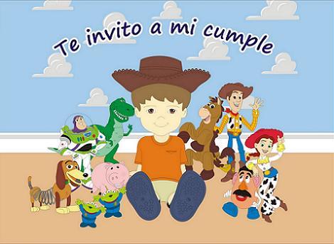 Invitaciones de Toy Story