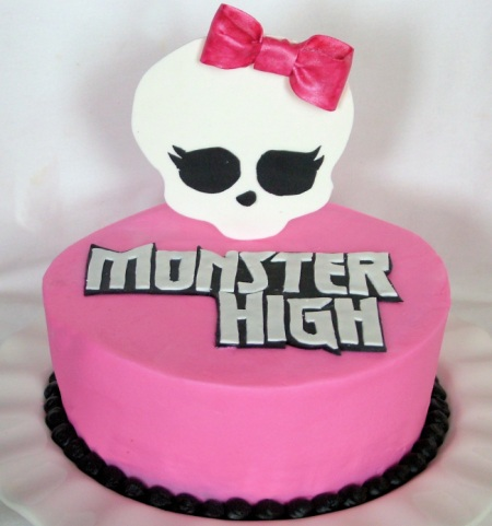 tartas monster high sencilla