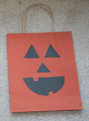 bolsas halloween calabaza