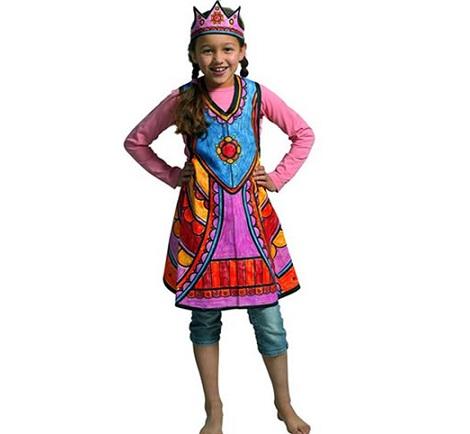 disfraces para pintar princesa