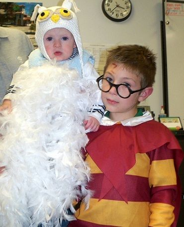 disfraces reciclados halloween harry potter