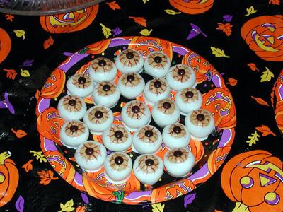 recetas halloween faciles ojos