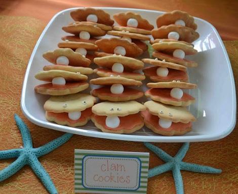 fiesta mar galletas