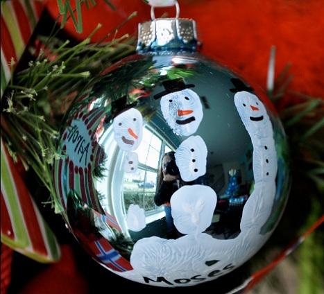 hacer bolas navidad