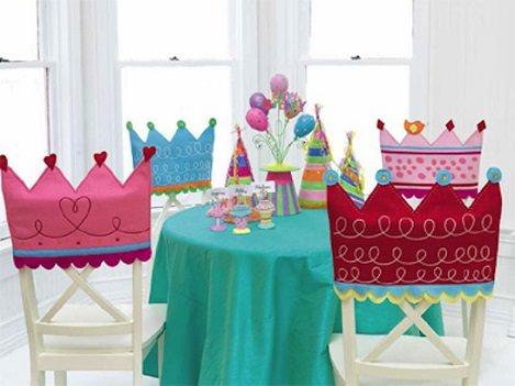 sillas decoradas fiestas infantiles