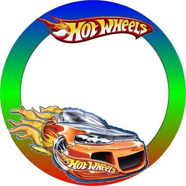 Tarjetas De Cumpleaños De Hot Wheels Para Imprimir