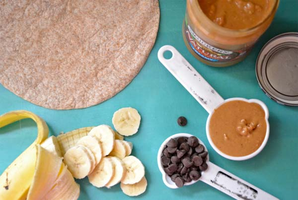 quesadillas-de-mantequilla-de-cacahuete