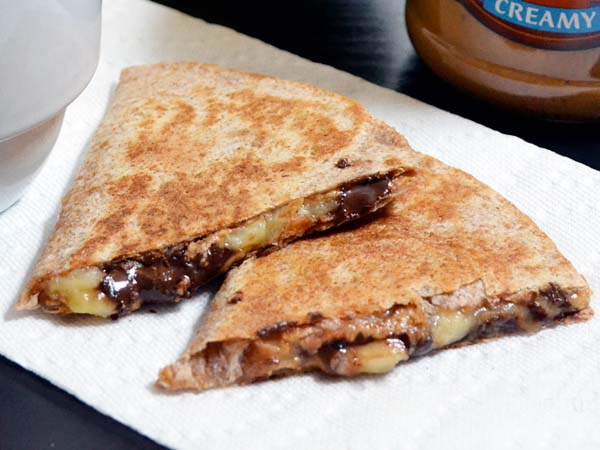 quesadillas-platano-y-chocolate